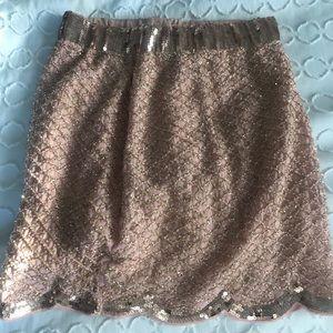 Demi Plié Vintage sequence skirt